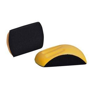 Astro Pneumatic 4655 6-Inch Velcro Hand Sanding Block for Round Discs Model 4655