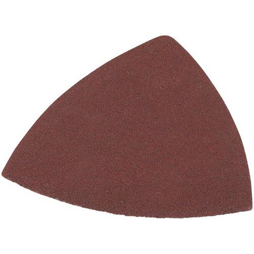 DEWALT DWASPTRI083 Hook and Loop Triangle 80 Grit Sandpaper 12-Pack