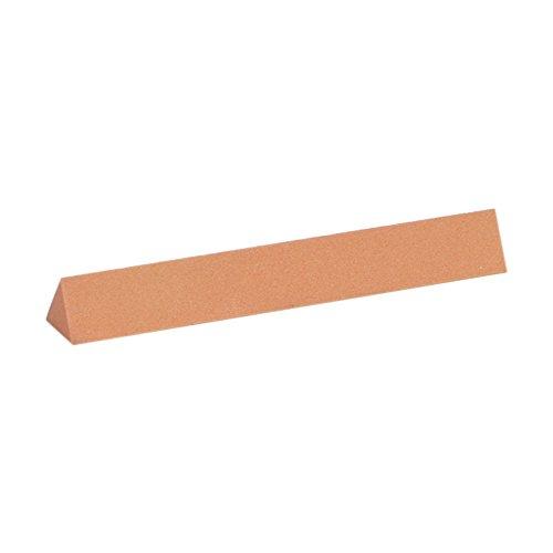 Norton Triangular Shape 4 x 12 Size 320 Micron Grade Fine Grit Grade India Sharpening Stone