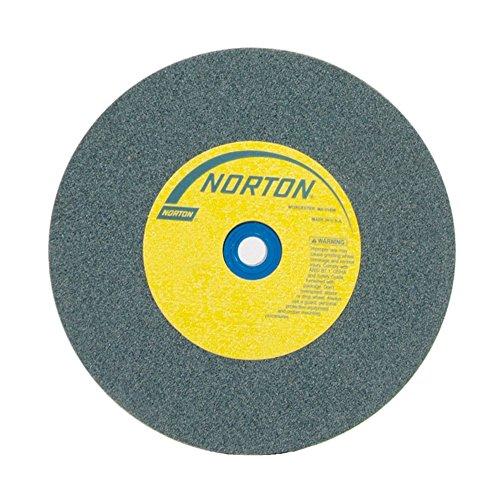 NORTON 66253144536 10 X 1 X 1-14 MEDIUM TYPE 01 STRAIGHT GEMINI BENCH PEDESTAL GRINDING WHEEL