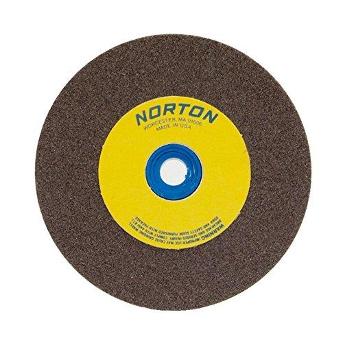 NORTON 66253161250 10 X 1-14 X 1-14 COARSE TYPE 01 STRAIGHT GEMINI BENCH PEDESTAL GRINDING WHEEL