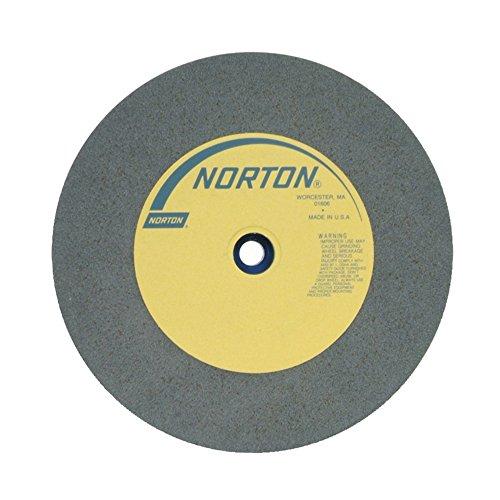 NORTON 66253263360 12 X 2 X 1-14 FINE TYPE 01 STRAIGHT GEMINI BENCH PEDESTAL GRINDING WHEEL