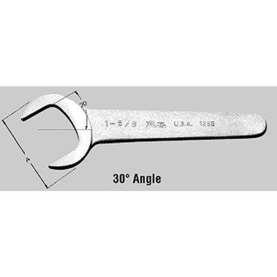 Chrome Service Wrench 30 Deg Angle - 1-916