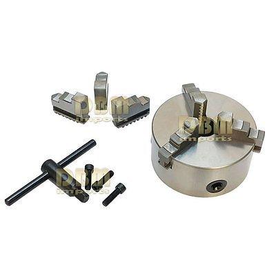 4 3-Jaw Self-Centering Chuck Lathe Milling Internal External Grinding Machines