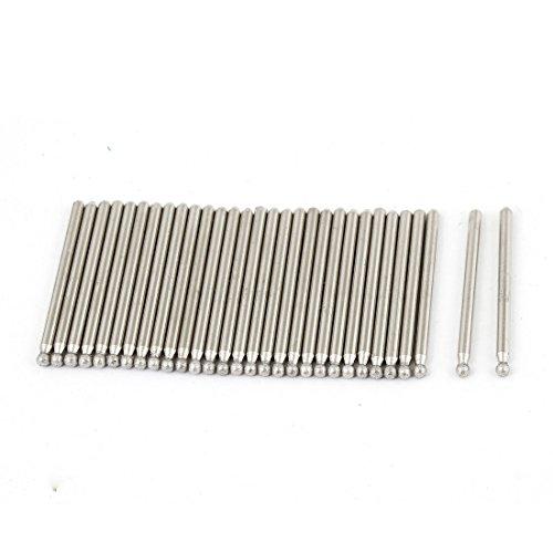 30 Pcs 3mm Dia Tip Diamond Point Grinding Drill Bits 45mm Long