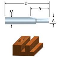 Vermont American 23000 Carbide Router Bit Set 6-Piece