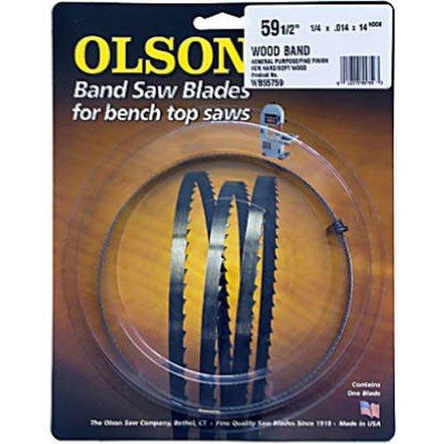 Olson Saw WB55759BL 14 by 0014-Inch 14 TPI Hook Wood Band Saw Blade
