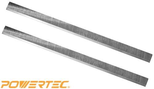 POWERTEC HSS 125  Planer Blades 12-12 x 34 x 18 Set of 2