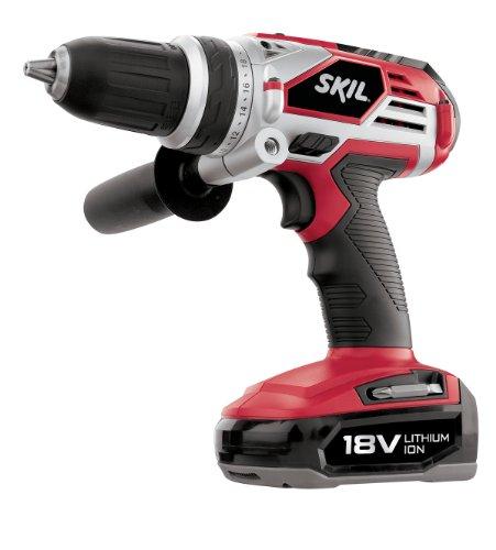 SKIL 2898LI-02 18-Volt Li-Ion DrillDriver Kit