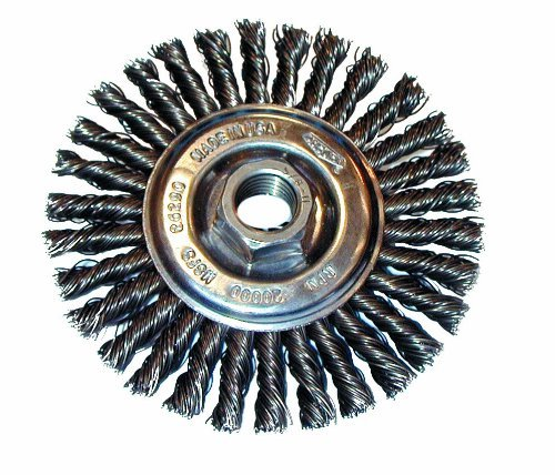 Osborn 26369 High Speed Small Grinder Stringer Bead Wheel Brush Steel Bristle 20000 RPM 4 Diameter by Osborn
