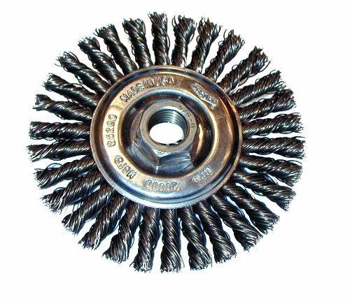 Osborn 26399 High Speed Small Grinder Stringer Bead Wheel Brush Stainless Steel Bristle 20000 RPM 4 Diameter by Osborn