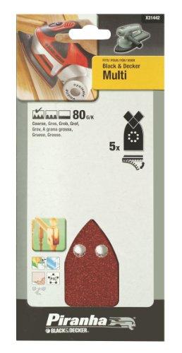 Black And Decker Multi Sander Sheets 5 80G
