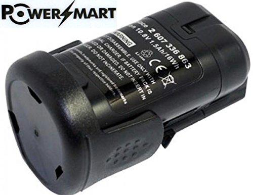 PowerSmart108V 1500mAh Li-ion 2 607 336 863 2 607 336 864 Battery for Bosch PSM 108 LI Cordless Multi-Sander Baretool