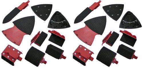 Skil 7300-017302-02 Multi-Sander 9 Pc Accessory Kit 2 Pack  2610938373-2pk