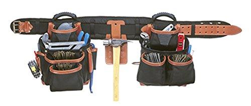 CLC Custom LeatherCraft 51452 4 Piece Top Of The Line Pro Framers Tool Belt