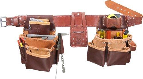Occidental Leather 5089 M Medium 7-Bag Framer Tool Belt by Occidental Leather
