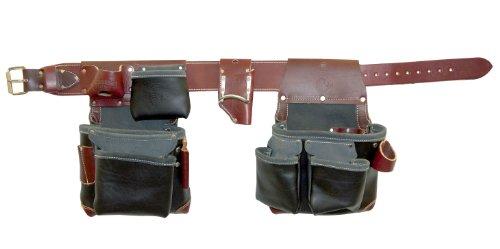 Occidental Leather B5625 XXL Green Building Framer Tool Belt Set Black XX-Large