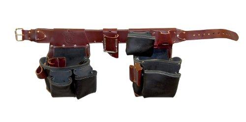 Occidental Leather B5625LH XL Green Building Framer Tool Belt Set Black X-Large Left Handed