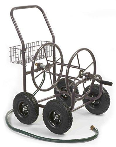 Liberty Garden Products 871-1 Residential Grade 4-Wheel Garden Hose Reel Cart with 250-Foot-Hose Capacity
