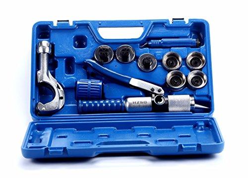 8milelake Hydraulic Tube Expander 7 Lever Tubing Expanding Tool Swaging Kit HVAC Tools