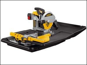 DeWalt D24000 Wet Tile Saw with Slide Table 110 Volt