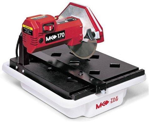 MK Diamond 157222 MK-170 13-Horsepower 7-Inch Bench Wet Tile Saw