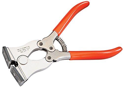 Starrett 1X-7 Adjustable-Jaw Cut Nipper With Carbide-tipped Steel Jaw 7 Size 0080 Maximum Wire Diameter Capacity