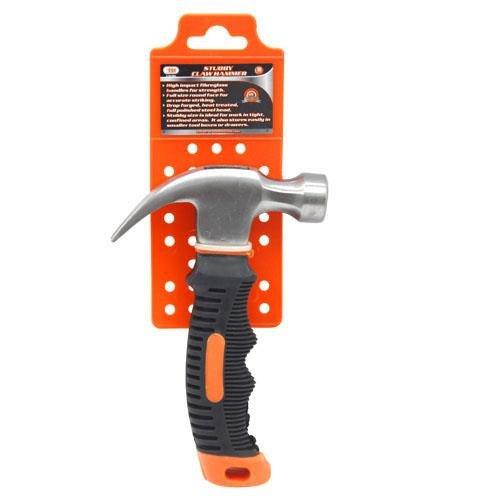 IIT 32381 Stubby Hammer w Magnetic Nail Holder - 12 Oz