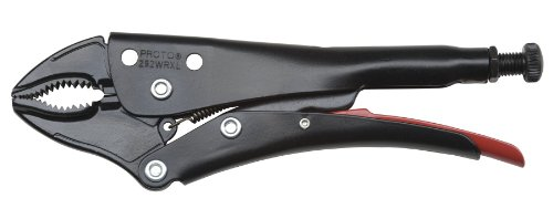 Stanley Proto J292WRXL Proto 9-2364-Inch Locking Curved Jaw Pliers with Cutter