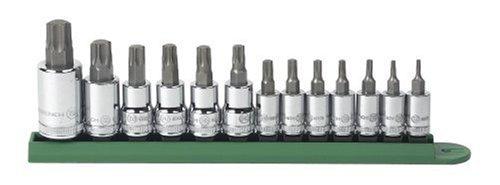 GearWrench 80725 13 Piece Torx Tamper Socket Set