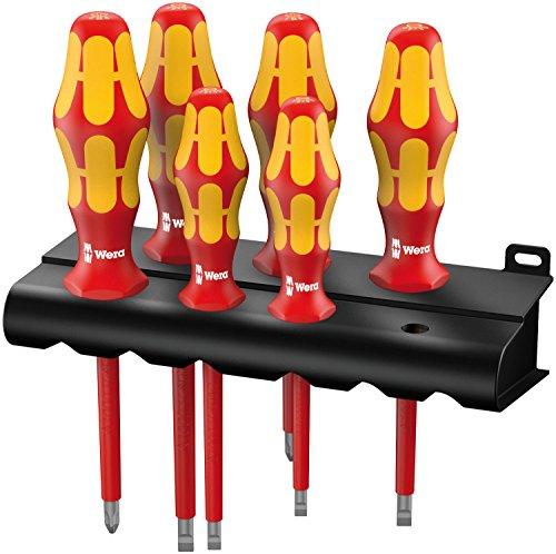 Wera Kraftform Plus 160i6 Insulated Professional Screwdriver Set 6-Piece