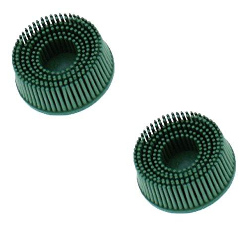3M 3M-18730 Roloc Bristle Disc Grade - 50 Size - 2 - 2 Pack
