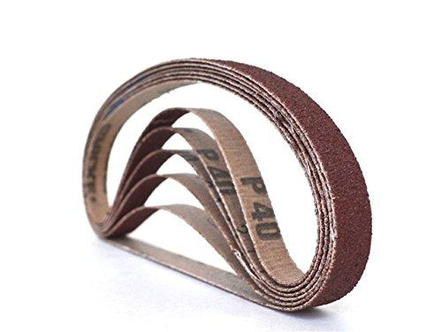 12 Inch X 24 Inch Aluminum Oxide Cloth Sanding Air File Belts 24 Pack 400 Grit