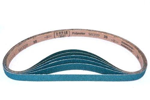 Sanding Belts 1 x 42 Sander Belts Cloth Zirconia 12 Pack 100 Grit