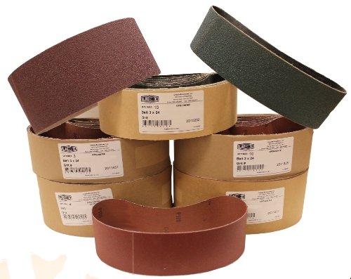 Uneeda Enterprizes Inc M-107316 M-107316 4-Inch x 24-Inch No 40 Grit Aluminum Oxide Cloth Sanding Belt