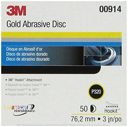 3M 00914 Hookit Gold 3 P320A Grit Disc