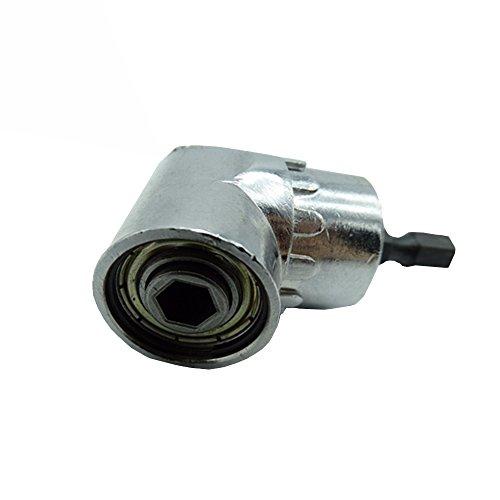 SUYIZN 105 °Angle Extension 14 inch Hex Drill Bit Screwdriver Socket Holder Adaptor