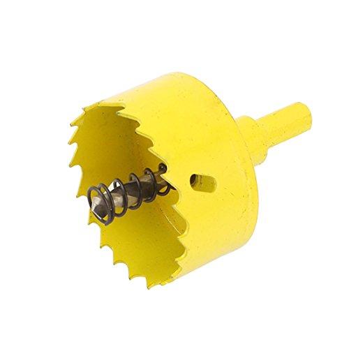 50mm Bi-Metal M42 HSS Hole Saw Cutter Drill Bit Yellow