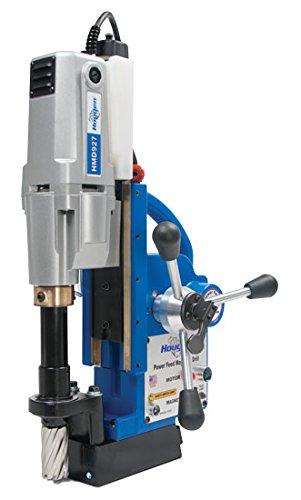 Hougen HMD927 Power Feed 115V Portable Magnetic Drill wCoolant Bottle
