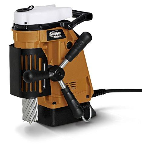 Jancy Magforce Portable Magnetic-Base Drill 120V 102 Amp Motor 1-58 Diameter x 2 Depth Capacity