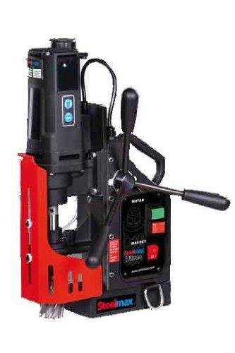 Steelmax SM-D1 PRO Portable Magnetic Drill 1-916 Diameter x 2 Depth of Cut Maximums