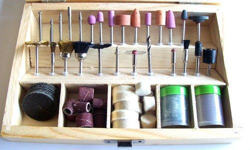Generic LQ8LQ2662LQ t For D Bit Set For Dremel otary A Rotary Accessory 18 18 Power Tools- wer Too New100pc Case RA911 Wood Case RA9110 US6-LQ-16Apr15-1359