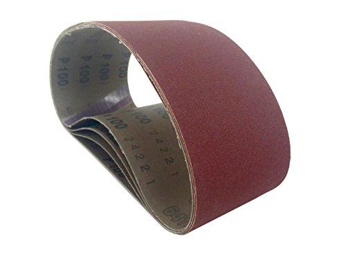 Sanding Belts 3 X 18 Aluminum Oxide Cloth Sander Belts 8 Pack 220 Grit