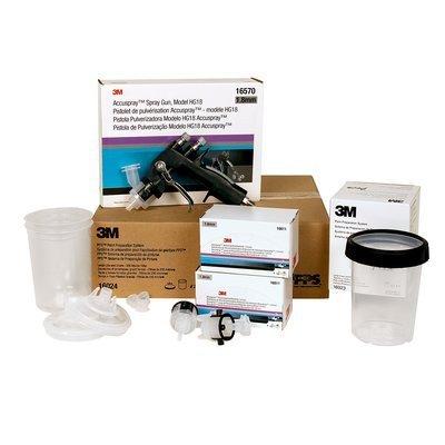 3M accuspray hg18 16605 large starter kit PRICE is per KIT