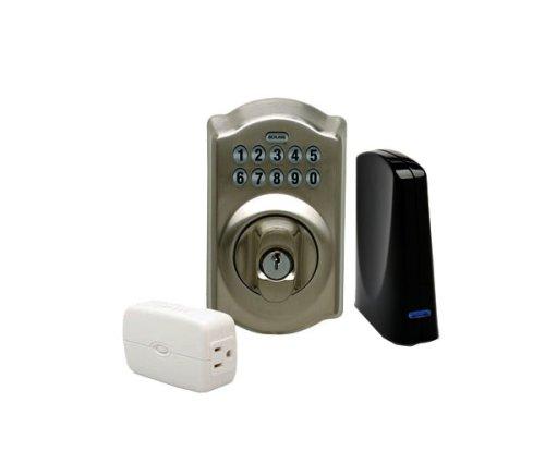 Schlage LiNK Wireless Keypad Deadbolt Starter Kit System Satin Nickel