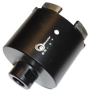 Toolocity SCB0300D  3-Inch Monster DryWet Diamond GraniteConcrete Core Drill BitsHole Saws