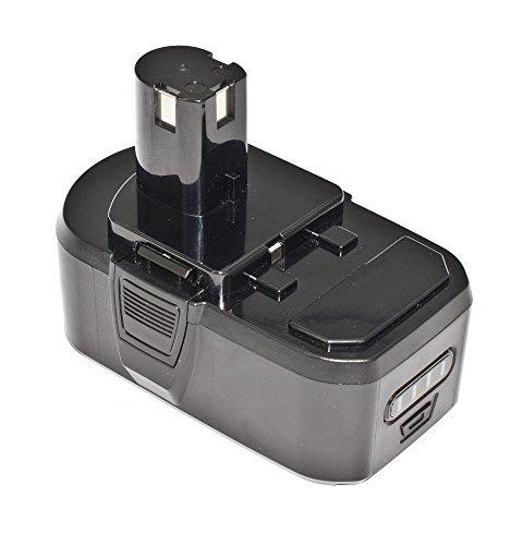 Replace P104 P108 P107 Li-ion 18Volts Drills Battery Pack Fit Ryobi Ryobi P703 CMI-1802