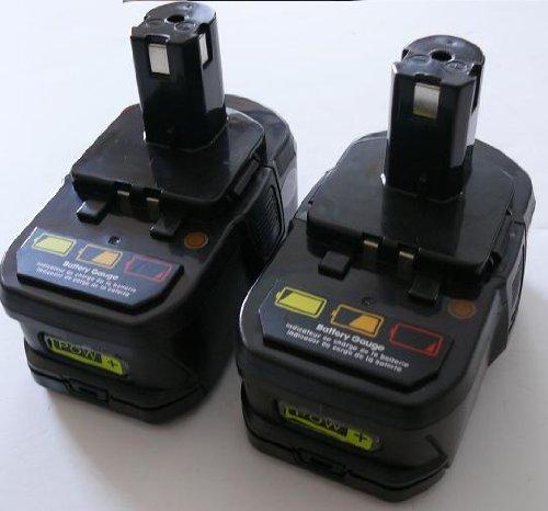 Titan--2 Pack Lithium Li-ion 18V Drill Battery for Ryobi BPL-1815 BPL-1820G 18Volt 3Ah
