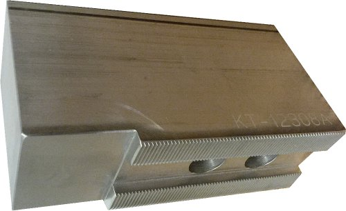 USST KT-12308AF Alum T6061 Flat Soft Chuck Jaws for 12 CNC Lathe Chucks  3 Tall Set of 3 Pieces