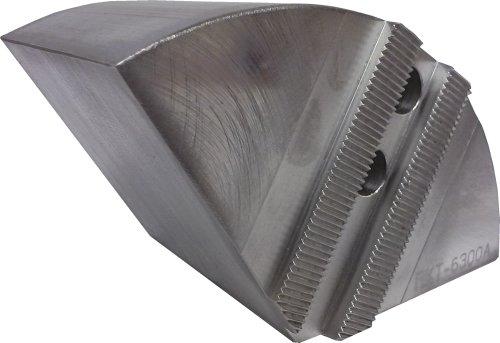 USST RKT-6300A Aluminum 6061 T6 Round Chuck Jaws for 6 CNC Lathe Chucks 3 Tall Set of 3 Pieces